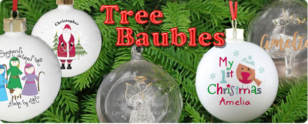 Personalised Tree Baubles