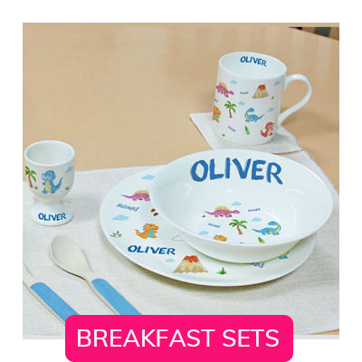 CHILDRENS BREAKFAST SETS