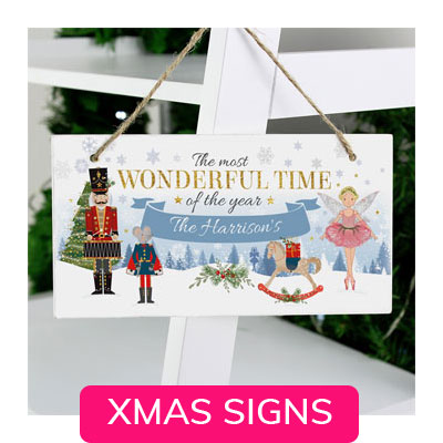 CHRISTMAS SIGNS & NOVELTIES