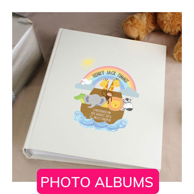 PERSONALISED PHOTO ALBUMS