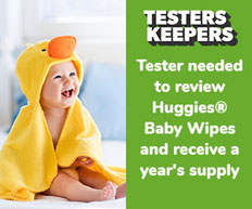 Huggies Tester