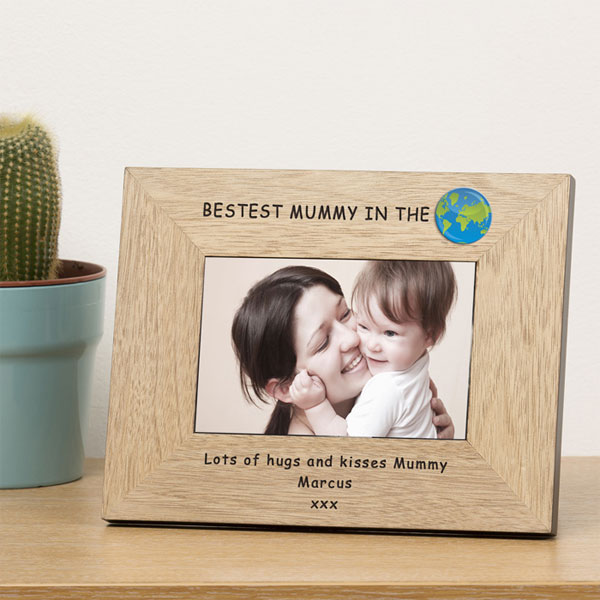 Personalised Best Mummy Frame