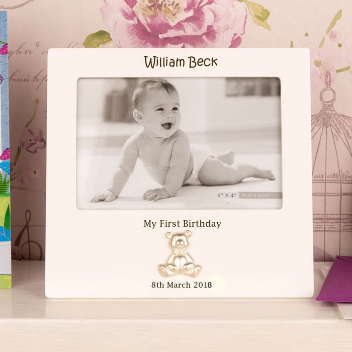 Personalised First Birthday Frame