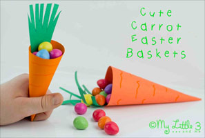 Carrot Easter Basket