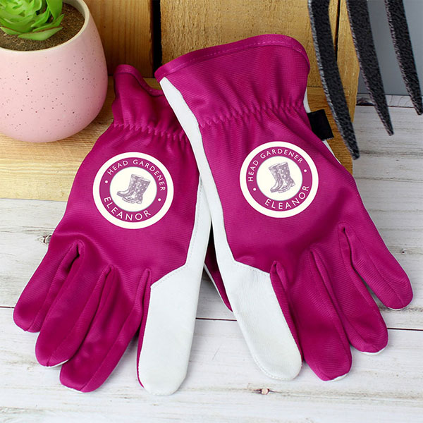 Personalised Gardening Gloves
