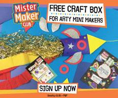 Free Mr Maker Craft Box