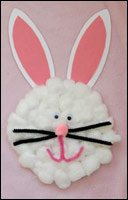 Paper Bunny Plate