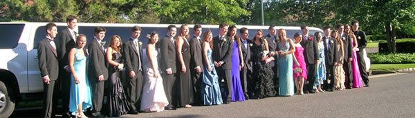 Prom Arrival