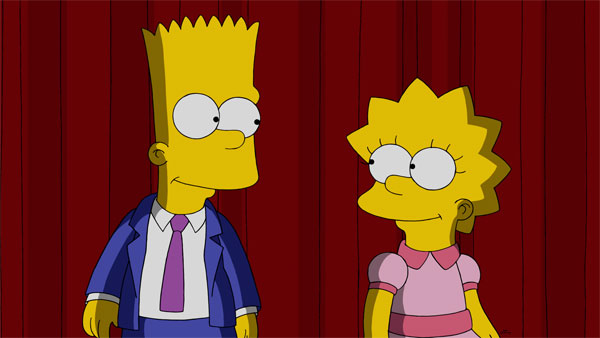 Bart & Lisa Simpson