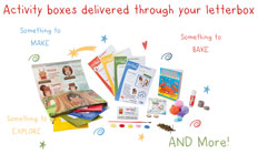Free 1st Weekend Activity Box
