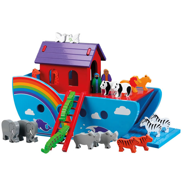 Large Rainbow Noah's Ark by Lanka Kade