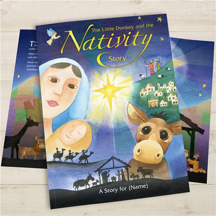 Personalised Nativity Book