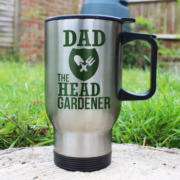 Personalised The Head Gardeners Insulated Mug Any Name