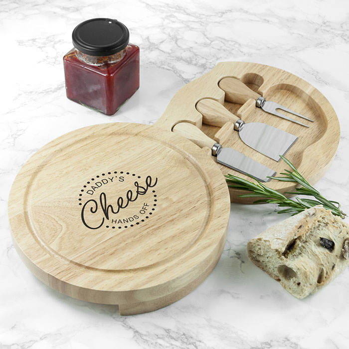 Personalised Hands Off Cheese Board Set
