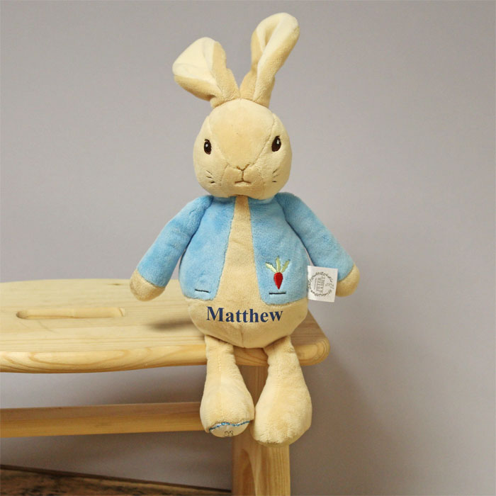Personalised My 1st Peter Rabbit Plush Toy