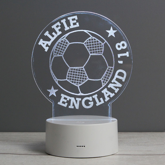 Personalised Football Light