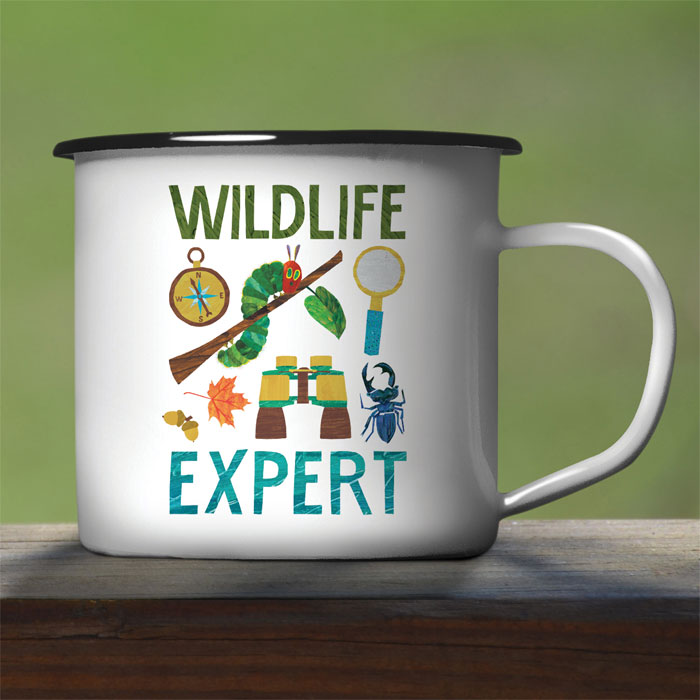 Very Hungry Caterpillar Wildlife Expert Enamel Mug