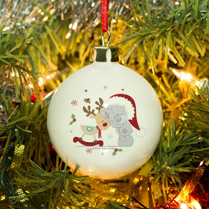 Personalised Me To You Tatty Teddy Magical Christmas Bauble