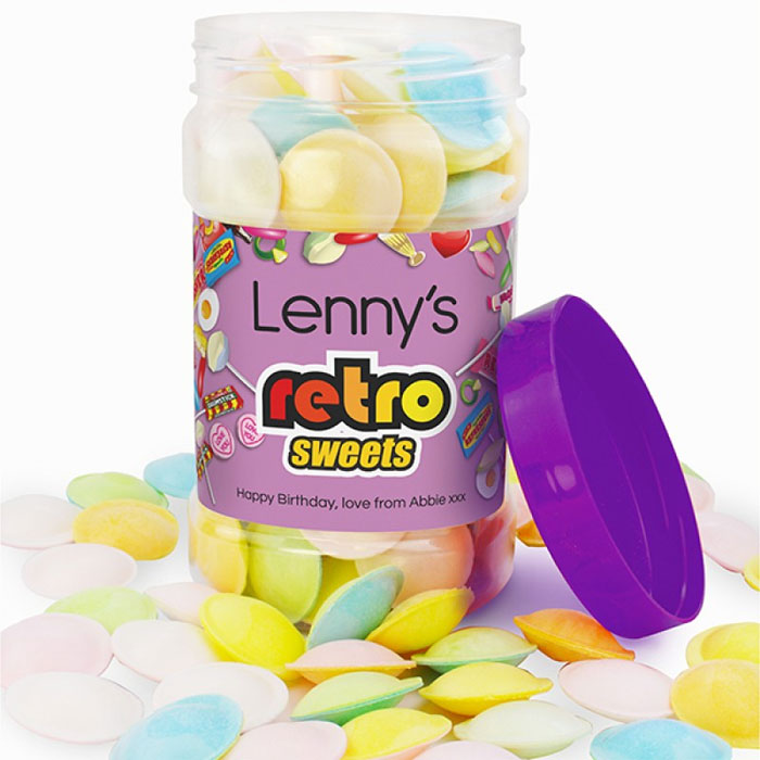 Personalised Jars of Flying Saucers