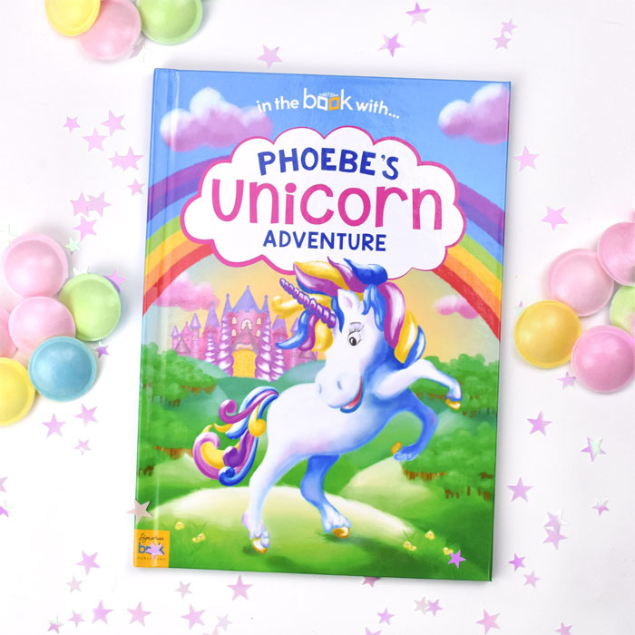 Personalised Unicorn A4 Story Book