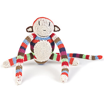 Crochet Monkey by Anne-Claire Petit