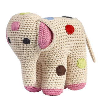 Crochet Elephant by Anne-Claire Petit