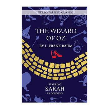 Personalised The Wizard of Oz Book