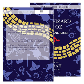 Personalised The Wizard of Oz Novel - Free Delivery