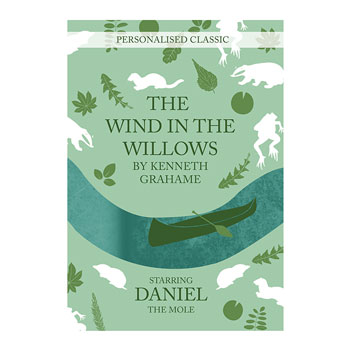 Personalised Wind in the Willows Novel