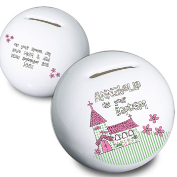 Personalised Church Moneybox