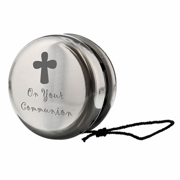 Stainless Steel First Holy Communion Yoyo (Non-Personalised)