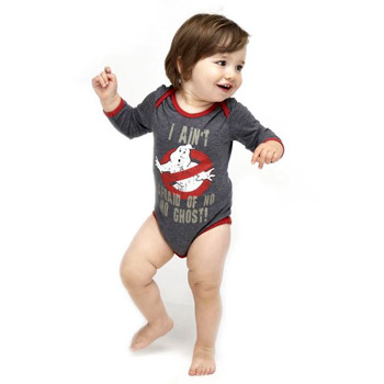 Ghostbusters Babygrow by Fabric Flavours