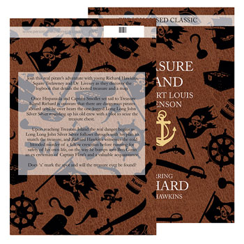 Personalised Treasure Island Novel - Free Delivery