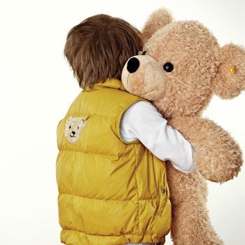 Cuddling Teddy Bear