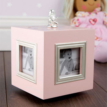 1st Birthday Musical Keepsake Box  Photo Frame