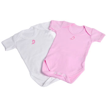 Boxed Cupcake Bodysuits Pink Baby Girl