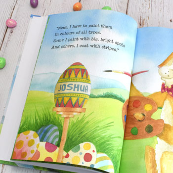 Personalised The Easter Bunny Story Book