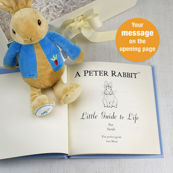 Peter Rabbit Personalised Baby Gift Set