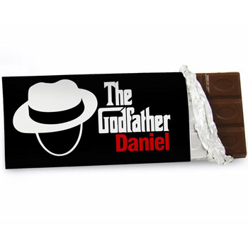 The Godfather Personalised Chocolate Bar Exclusive