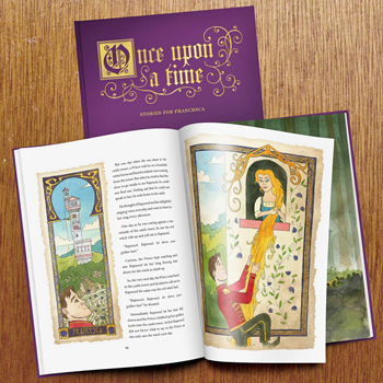 Personalised Fairytale Book