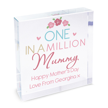 One in a Million Large Personalised Token Mummy Grandma etc