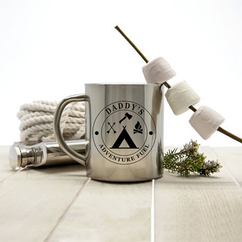 Personalised Adventure Fuel Outdoor Mug