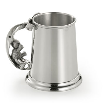 Pewter Teddy Bears Picnic Mug by Royal Selangor