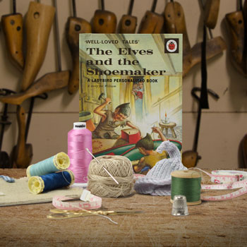 Personalised The Elves and the Shoemaker Ladybird Book