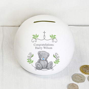 Personalised Tatty Teddy Natures Blessing Money Box