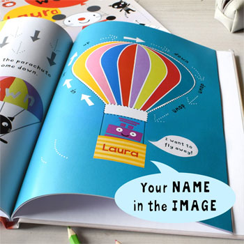 Personalised Arty Mouse Words Activity Book