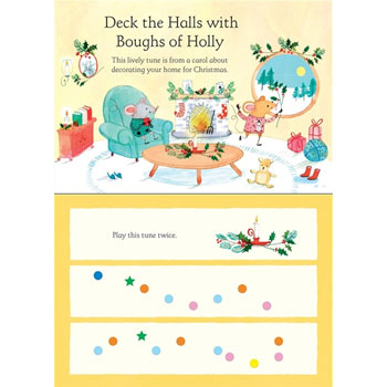 My First Christmas Keyboard Book from Usborne Books