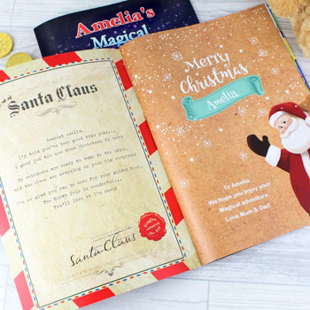 Personalised Magical Christmas Adventure Story Book