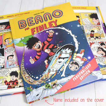 Personalised Beano Hardback Annual 2018