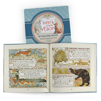 Personalised Aesops Fables Hardback Book
